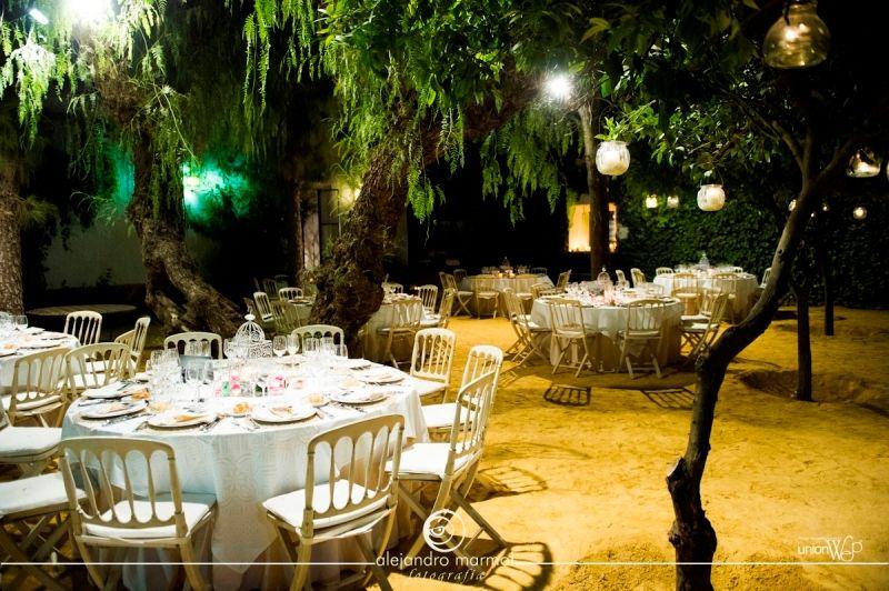 Hacienda los ngeles haciendas en sevilla bodas jard n for Oficinas de hacienda en sevilla