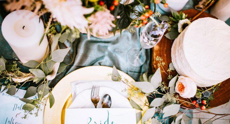 decoracion de bodas foto de una mesa